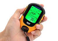 Портативная метеостанция Sunroad FR500 (7 в 1): альтиметр, барометр, компас, гигрометр, термометр, часы, фото 1