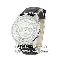 Часы Breitling Chronometre Navitimer Black-Silver-White-Black