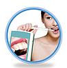 """Стоматологическая интраоральная камера DC03 с 3 """" TFT LCD экраном (аккумулятор, водонепроницаемая)"""
