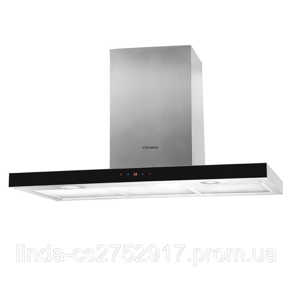 Кухонная вытяжка Pyramida HEF 22 (H-900 MM) BLACK