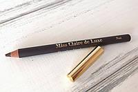 Пудровый карандаш для бровей De Luxe (натуральный) Miss Claire