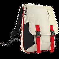"""Рюкзак для ноутбука 15,6"""" CROWN BPH-3315WR  white and red"""