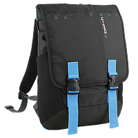 "Рюкзак для ноутбука 15,6"" CROWN BPH-3315BBU  black and blue"