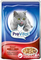 PreVital Classic со вкусом говядины в желе 100 г