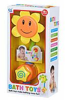 Игрушки для ванной Same Toy Puzzle Sun Flower, детские игрушки для купания
