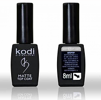 "Matte ""Velur"" top coat Kodi 8 мл"