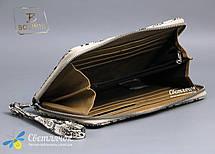 Кошелек клатч женский кожаный на молнии Bolinni, фото 3