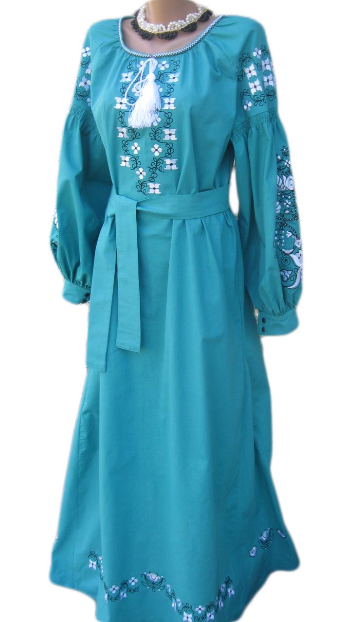 """Жіноче вишите плаття """"Мейкліс"""" (Женское вышитое платье """"Мейклис"""") PD-0008"""