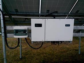 установка и настройка сетевого солнечного инвертора HUAWEI SUN 2000-33KTL-А