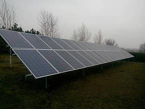 поле солнечных панелей Amerisolar AS-6P30 260 W