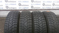 Зимние шины б/у 175/65 R15 PIRELLI Winter 190 Snow Control Serie 2, 7 мм., комплект 4 шт.