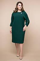 Платье ЭНДЖИ темно-зеленое (54-60)