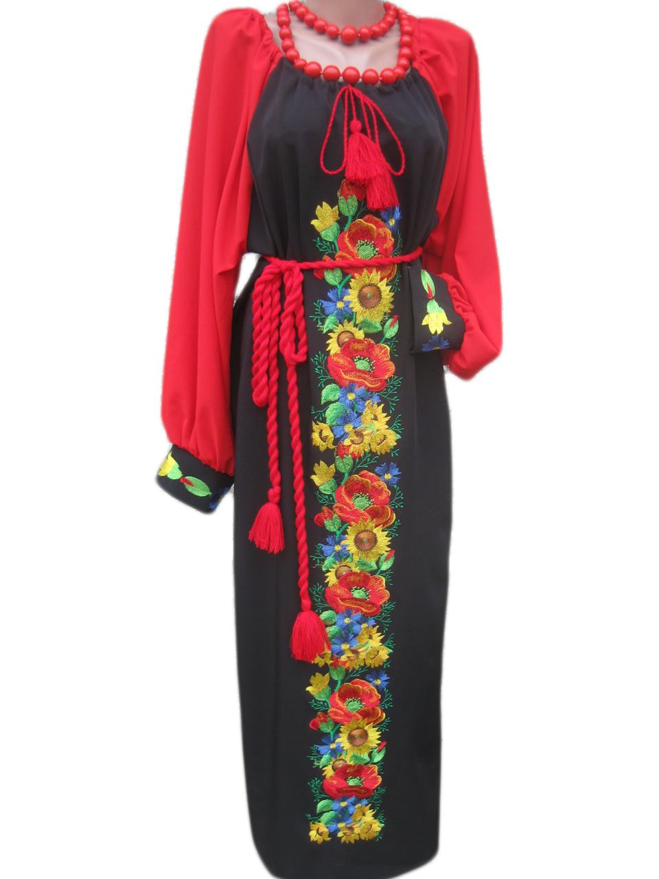 """Жіноче вишите плаття """"Нейтін"""" (Женское вышитое платье """"Нейтин"""") PD-0009"""