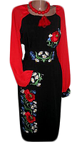 """Жіноче вишите плаття """"Мегален"""" (Женское вышитое платье """"Мегален"""") PD-0010"""