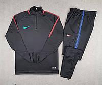 Тренировочный костюм черный nike
