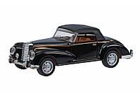 Автомобиль Same Toy Vintage Car, черный кабриолет, детские модели машинок