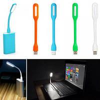 USB0,72 LED светильник 6 LED 1.2Вт, гибкая ножка