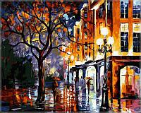 """Картины раскраски по номерам """"Дождь в Майами"""" набор для творчества"""