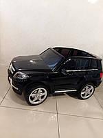 Детский электромобиль Mercedes-Benz GLK-350, лицензионный, крашеный, черный