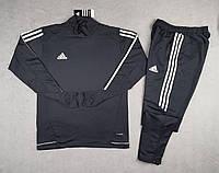 Тренировочный костюм черный adidas