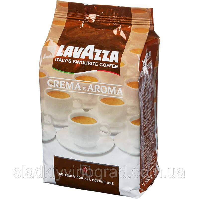 Кофе зерновой Lavazza Crema e Aroma 1 кг.