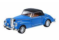 Автомобиль Same Toy Vintage Car со светом и звуком Синий кабриолет, Детские модели машинок
