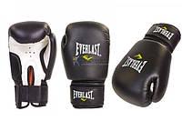 Перчатки тренировочные Everlast PU Pro Style training gloves 14 oz черный