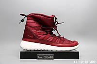 Ботинки Nike Roshe Run Hi Sneaker Boot зимние найк реплика