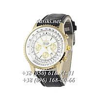 Часы Breitling Chronometre Navitimer Black/Gold/White