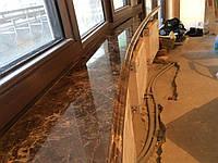 Подоконники мраморные Emperador, фото 1