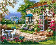 """Картины раскраски по номерам """"Летний день"""" набор для творчества"""