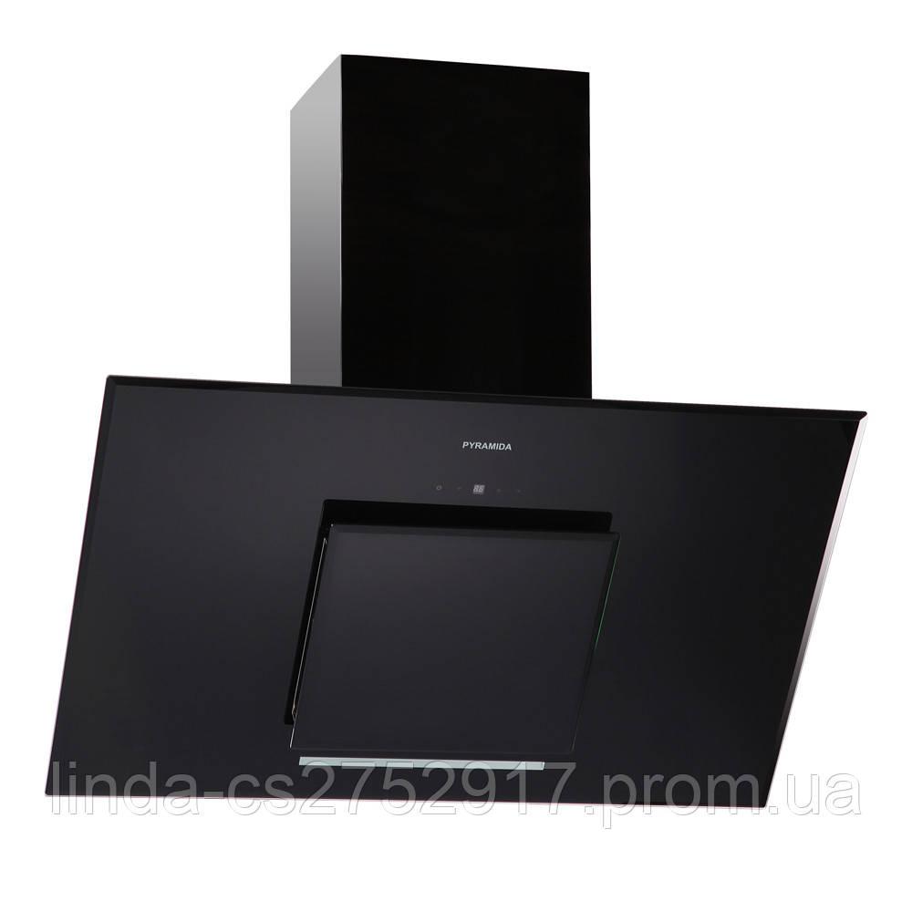 Кухонная вытяжка Pyramida HES 30 (D-900 MM) BLACK /AJ