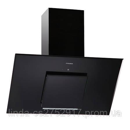 Кухонная вытяжка Pyramida HES 30 (D-900 MM) BLACK /AJ, фото 2
