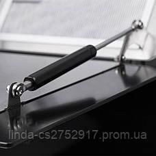Кухонная вытяжка Pyramida HES 30 (D-900 MM) BLACK /AJ, фото 3