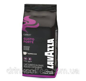 Кава в зернах Lavazza Gusto Forte, 20% Арабіка/80% Робуста, Італія, 1 кг