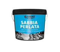 Декоративне покриття з кварцовим піском та перламутром Element Decor Sabbia Perlata