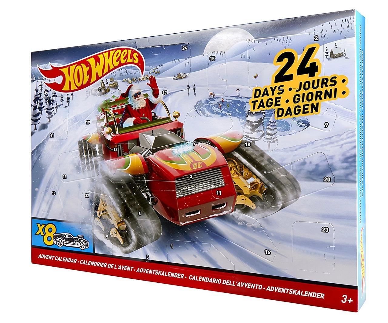 3f8bb7c477fc Рождественский календарь Хот Вилс 2017 - Интернет-магазин