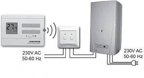 Программируемый терморегулятор Computherm Q7  RF  беспроводной (Венгрия), фото 3