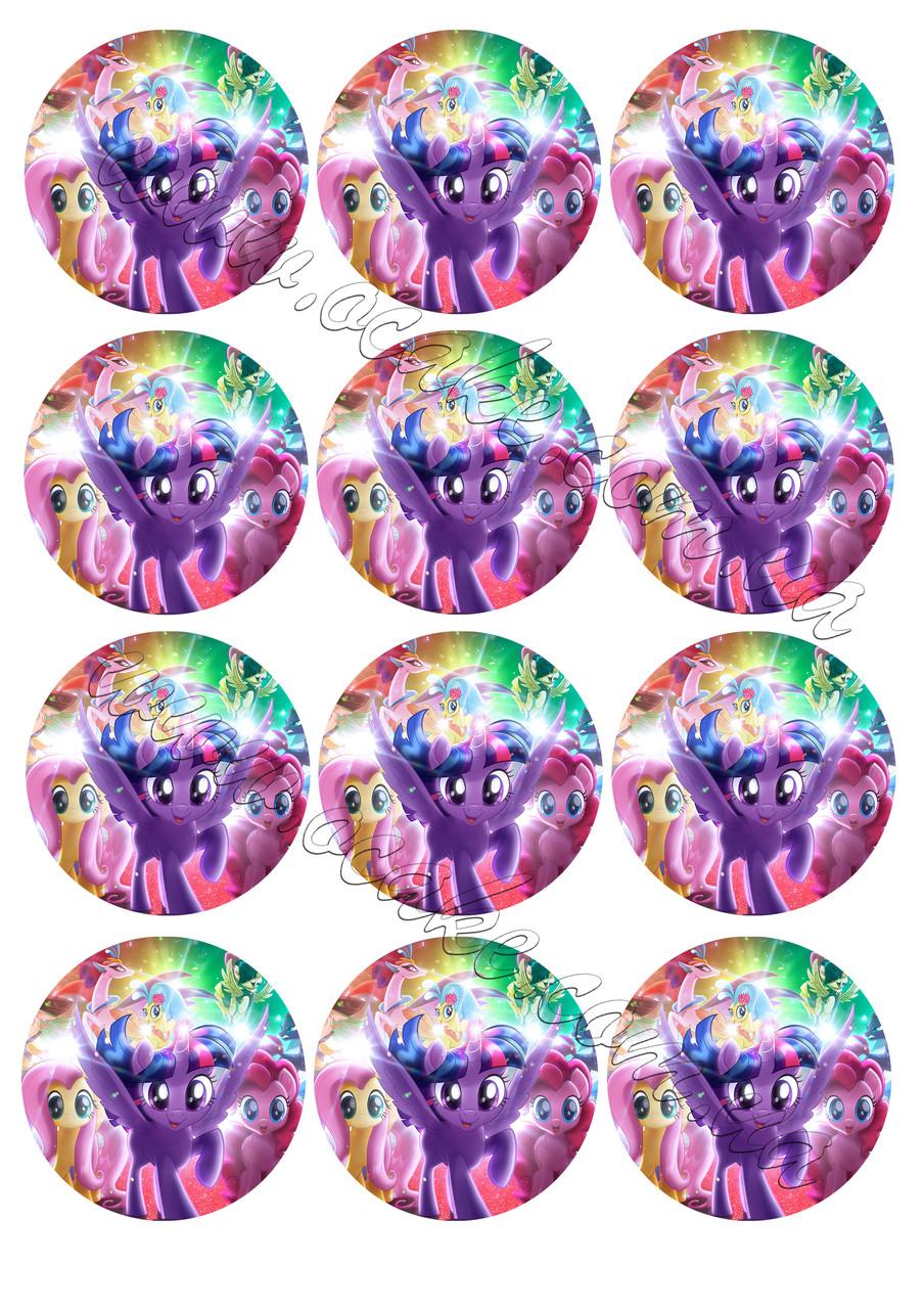 Вафельная картинка литл пони