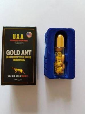 """""""Gold Ant"""" (таблетки, 10 шт.) Золотой муравей для повышения потенции Возбуждающие препараты"""