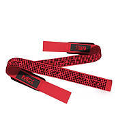 MEX NutritionПодъемные Ремни V-Pro Lifting Straps Red