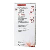 Витамины и минералы для женщин Women`s Ultra Mega 50 Plus (60 caps)