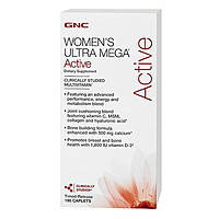 Витамины и минералы для женщин Womens Ultra Mega Active (180 cap)
