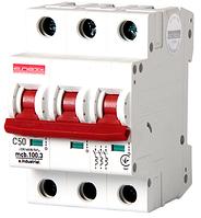 Модульный автоматический выключатель C50, 3 р, 50А, C, 10кА