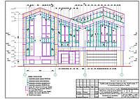 Рабочий проект вентилируемого фасада НВФ, фото 1