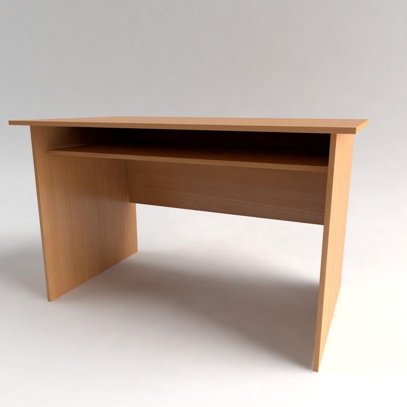 Стол рабочий с полкой СР-2. Письменные столы для офиса