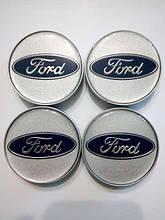 Комплект колпачков в колесные  диски FORD  60/58 мм