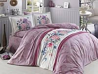 Комплект постельного белья First Choice Ranforce Deluxe Евро Nora