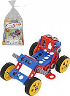 Конструктор Изобретатель - Квадроцикл №1 87 элементов в пакете Polesie 55057