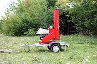 Измельчитель веток Arpal 120БД-К с транспортером и бензиновым мотором, 18 л.с. (диаметр веток 120 мм)